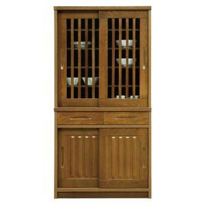 食器棚 和風 完成品 幅90cm taiho-kagu