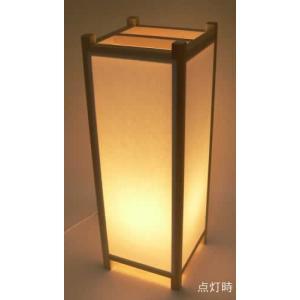 手作り角行灯 行燈 あんどん Lサイズ ベース450 省エネ電球|taiho-kagu