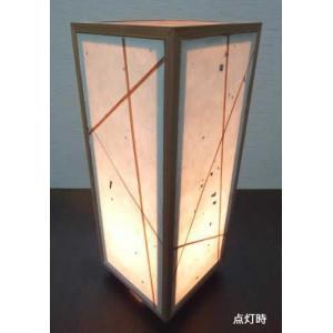 角行灯 行燈 あんどん SSサイズ 楮和紙/杉紐デザイン|taiho-kagu