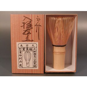 奈良高山の茶筅です  穂先がしなやかで、尚且つ腰が強く、 折れにくく、細かい泡がスムーズにたちます。...