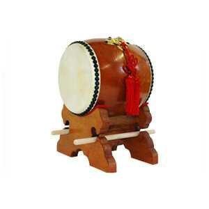 和太鼓 飾り太鼓 かっこ台・バチ・房セット 4.5寸|taiko-center