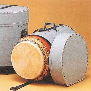和太鼓 太鼓 長胴太鼓用ファイバーケース 1尺2寸用|taiko-center