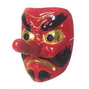 お面 祭・踊り用 天狗 紙面-お取り寄せ商品-|taiko-center