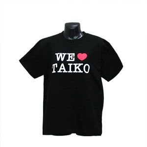 WE LOVE TAIKO Tシャツ --お取り寄せ商品-|taiko-center