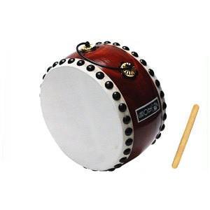 太鼓 和太鼓 玩具太鼓50号 無地 バチ1本付|taiko-center