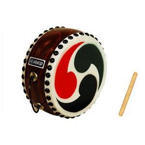 太鼓 和太鼓 玩具太鼓 60号 巴紋入 バチ1本付|taiko-center