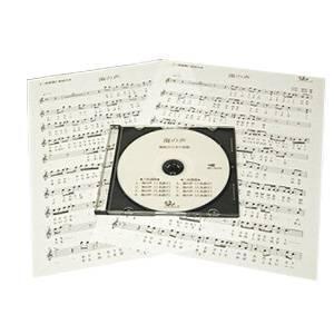 篠笛楽譜 島唄 THE BOOM カラオケCD+楽譜(ハ長調譜+へ長調譜)