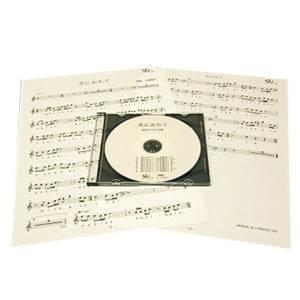 篠笛楽譜 恋におちて 小林明子 カラオケ CD+楽譜