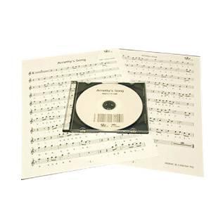 篠笛楽譜 Arrietty'S Song 借りぐらしのアリエッティ カラオケ CD+楽譜