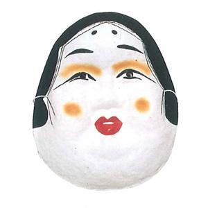 おかめ 紙面 お面 祭・踊り用 -お取り寄せ商品-|taiko-center