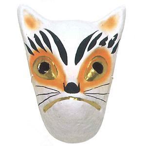 狐 紙面 お面 祭・踊り用 -お取り寄せ商品-|taiko-center