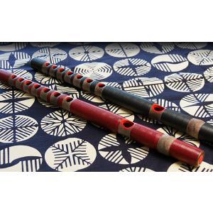龍笛 樹脂製 色・指穴・ピッチ選択可能 【選べる笛袋付】