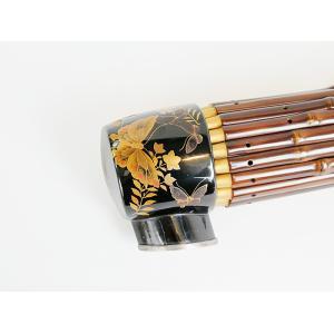 笙 蒔絵:蝶 煮竹 長さ:約46cm 雅楽器|taiko-center