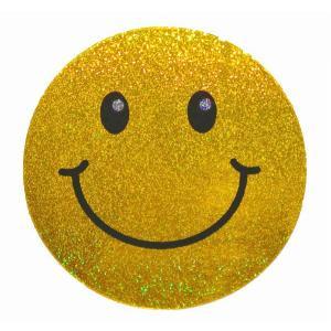 ステッカー スマイリー ラメタイプ t-A スマイル にこちゃん グッズ 笑顔 シール taikokuya
