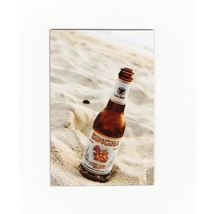 シンハー ビール マグネット type B3 (瓶ビール×縦タイプ) - タイ雑貨 アジアン 輸入雑貨  旅行 グッズ 海外 お土産 おみやげ -
