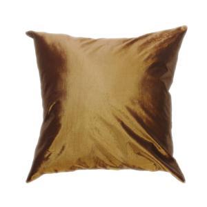クッションカバー 45×45cm 対応 ゴールド 金 タイ シルク 絹 無地 おみやげ 雑貨 / 121006028 taikokuya