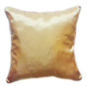 クッションカバー 45×45cm 対応 イエロー ゴールド 金 タイ シルク 絹 無地 おみやげ 雑貨 / 130915044 taikokuya