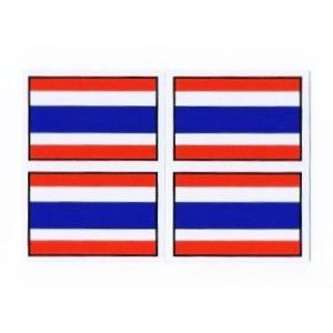 ステッカー タイ 雑貨 アジアン シール / タイ王国 国旗 ステッカー(THAI) S サイズ t-I / お土産 おみやげ 海外 旅行 アジア taikokuya