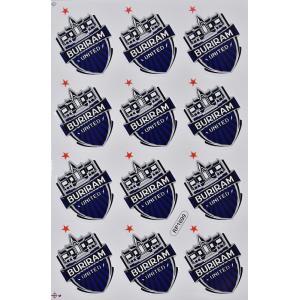 ステッカー ブリーラム・ユナイテッド  エンブレム( 紋章 ロゴ)(12P mix) L サイズ (Aタイプ)サッカー フットボール デカール taikokuya