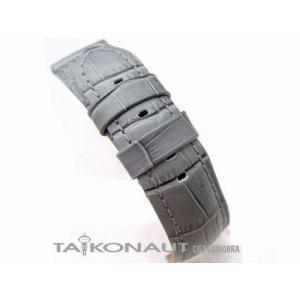 24mm TAIKONAUT 時計ベルト クロコグレイン-ZZ008 パネライ44mm|taikonaut
