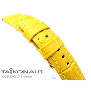 24mm TAIKONAUT 時計ベルト クロコグレーン-ZZ012 パネライ44mm|taikonaut