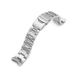 20mm メタル時計バンド ステンレススチール オイスター ブレスレット for セイコー SKX021, SKX023, SKX025, SKX027|taikonaut