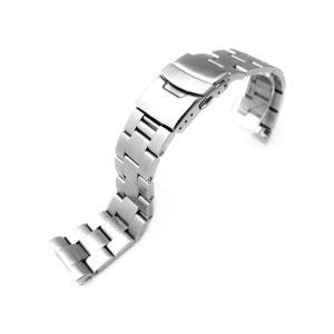 22mm メタル時計バンド ステンレススチール オイスター ブレスレット for セイコー ダイバー 6306, 6309|taikonaut