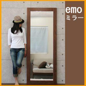 エモシリーズ ウォールナットミラー EMM−2181(IC)【税別・送料無料(北海道・沖縄・離島は送料別)】|tailee