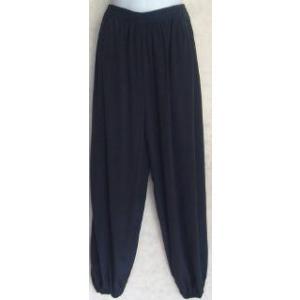 太極拳ズボン 濃紺(光沢なし)|taiqi