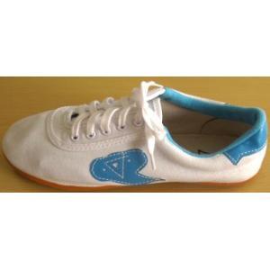 太極靴(雲マーク)白|taiqi