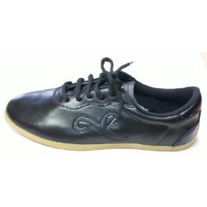 太極拳革靴(黒・底約1cm)|taiqi