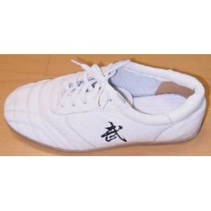 武マークの革靴(白)|taiqi