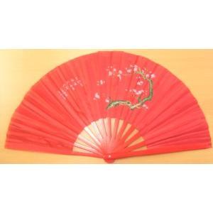 梅花扇(赤)38cm taiqi