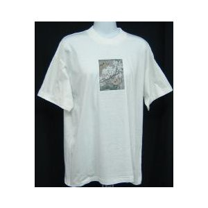 中国画のTシャツ(蝶(黄)) taiqi