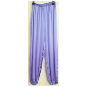 シルクズボン 薄紫(光沢あり)|taiqi