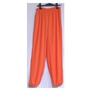 雪絹ズボン(オレンジ)|taiqi