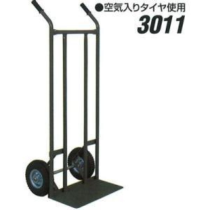 石川製作所 アイケーキャリー IK-3011 スチール製 二輪運搬車 (丁稚車)|tairaml