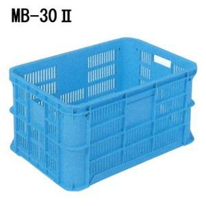 岐阜プラ リステナー MB-30II 外寸 615 × 424 × 312 物流 産業資材 コンテナー|tairaml