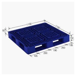 岐阜プラスチック工業パレット:JLパレット(軽量タイプ):JL-D4_1111FDB|tairaml