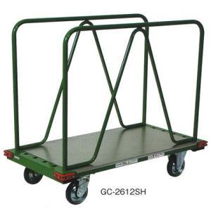 東正車輌 ゴールド キャリー GC-2612SH 業務用 長尺 スチール 運搬 台車|tairaml
