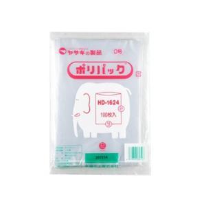 矢崎化工 yazaki ポリパック HD-1624 N 0号 1箱50袋 (5000枚)|tairaml