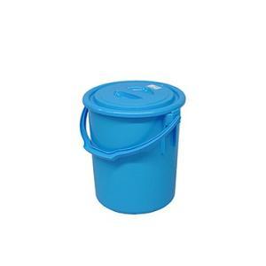 yazaki (ヤザキ) 生活 用品 万能桶 蓋付き L-30 B 外寸:Φ36.5×42.5cm tairaml
