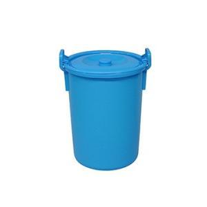 yazaki (ヤザキ) 生活 用品 万能桶 蓋付き L-45 B 外寸:Φ38.5×50cm|tairaml