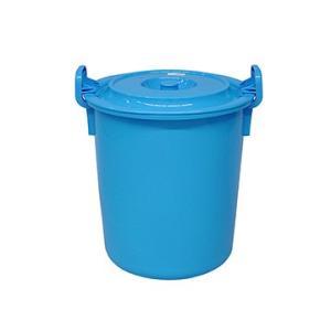 yazaki (ヤザキ) 生活 用品 万能桶 蓋付き L-70 B 外寸:Φ49.5×56cm|tairaml