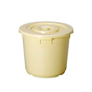 yazaki (ヤザキ) 生活 用品 漬け物 タル 樽 BL-30 CR 外寸:Φ42.5×35.5cm|tairaml