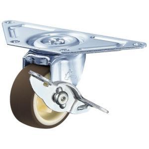 ハンマー キャスター 車輪 215G-UR 50mm コーナー 平付 ナイロン ホイール 熱可塑性ウレタン巻車輪|tairaml