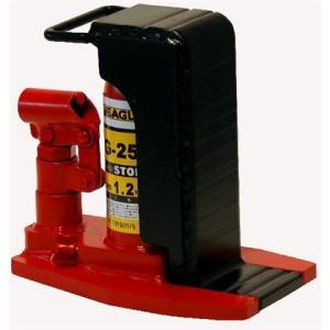 今野製作所 イーグル 爪つき 油圧 ジャッキ G-25 レバー回転 安全弁付|tairaml