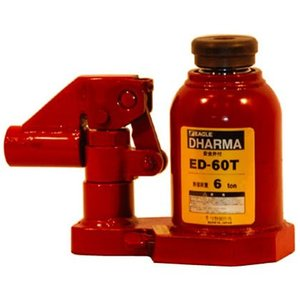 今野製作所 DHARMA (ダルマー) 低床タイプ ED-60T (安全弁付) イーグル コンパクト 油圧 ジャッキ|tairaml