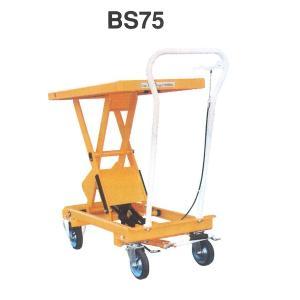 ナンシン テーブル リフト BS75 積載荷重 750kg 油圧 リフト ハンドリフト|tairaml