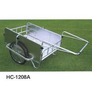 パネル付アルミリヤカー:HC-1208A エアータイヤ|tairaml